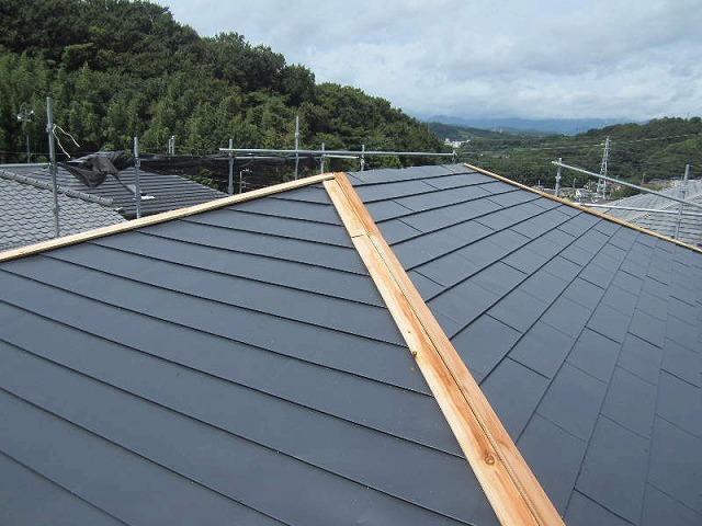 屋根の貫板部分
