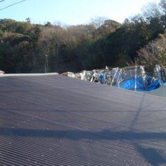既存の屋根より、軽量に、強固に、リフォームしました。のサムネイル画像2