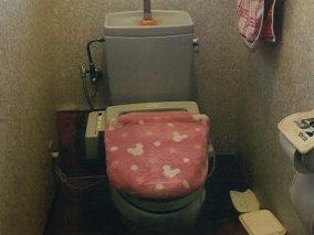 高性能でお掃除しやすく、清潔感のあるトイレに。のビフォー画像