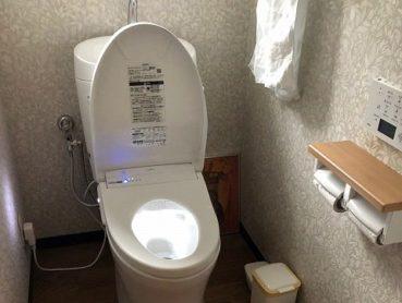 高性能でお掃除しやすく、清潔感のあるトイレに。のアフター画像
