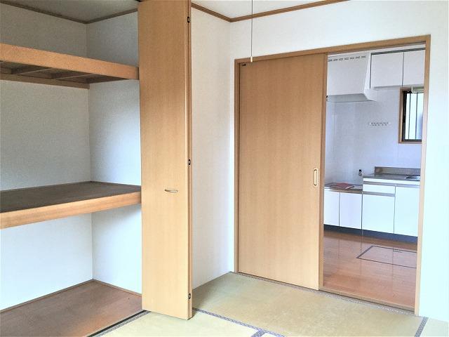 東田原貸家和室収納
