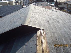 台風による屋根被害発生!早期に安価で耐久性のある屋根にのビフォー画像