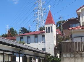 キリスト教会の建替え工事のビフォー画像