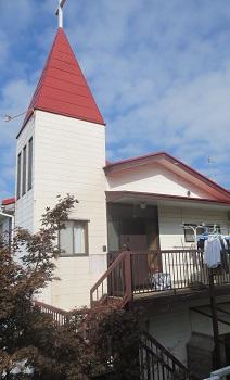 キリスト教会の建替え工事のメイン画像です