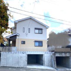 二宮町 K様邸 地下車庫2台の新築工事のメイン画像です